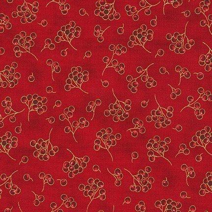 Holiday Flourish 13 SRKM-19263-3 RED christmas