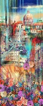 Q4441-339 Wanderlust Rome Fabric
