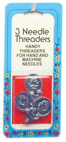 Needle threader-handy threaders for most hand & machine needles