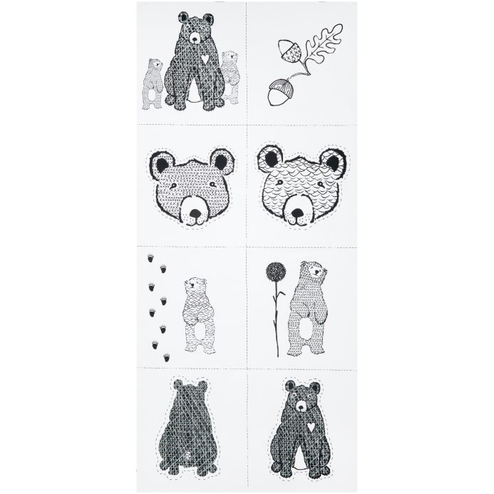 Stof Wolly Bear panel 4505-090