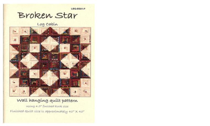 Broken Star Log Cabin Quilt Pattern