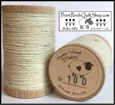 Rustic Wool Moire Threads No.100