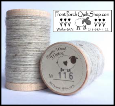 Rustic Wool Moire Threads No.116