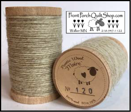 Rustic Wool Moire Threads No.120