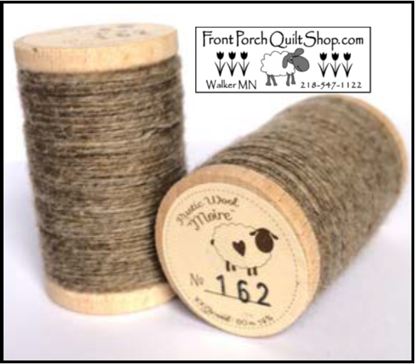 Rustic Wool Moire Threads No.162
