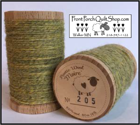 Rustic Wool Moire Threads No.205