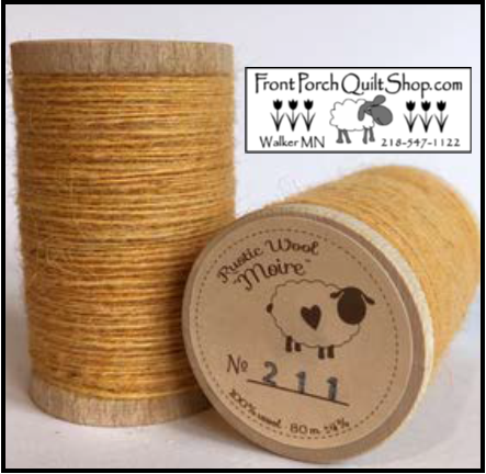 Rustic Wool Moire Threads No.211