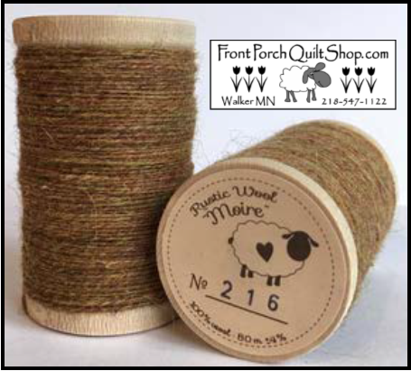 Rustic Wool Moire Threads No.216