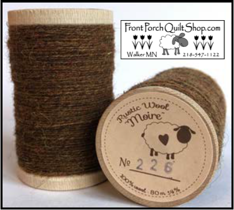 Rustic Wool Moire Threads No.226