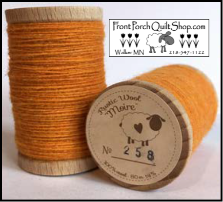 Rustic Wool Moire Threads No.258