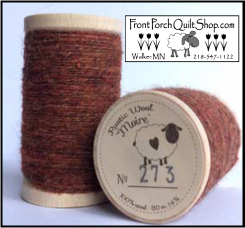 Rustic Wool Moire Threads No.273