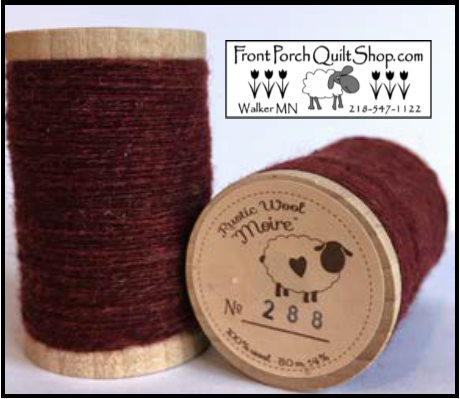 Rustic Wool Moire Threads No.288