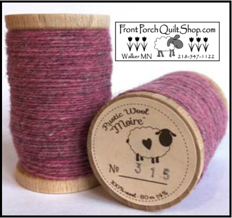 Rustic Wool Moire Threads No.315