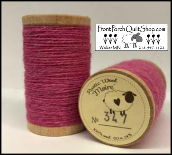 Rustic Wool Moire Threads No.347