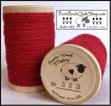 Rustic Wool Moire Threads No.360