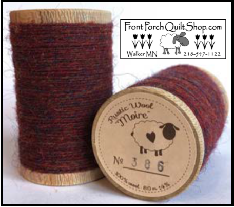 Rustic Wool Moire Threads No.386