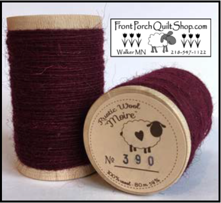 Rustic Wool Moire Threads No.390