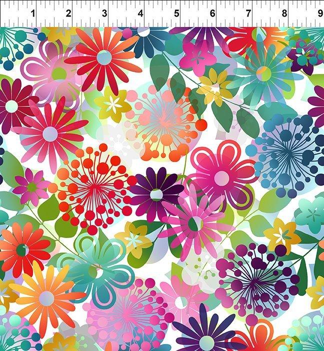 A Groovy Garden Blooms Multi
