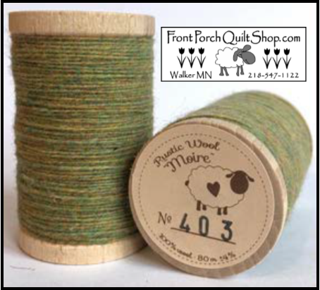 Rustic Wool Moire Threads No.403