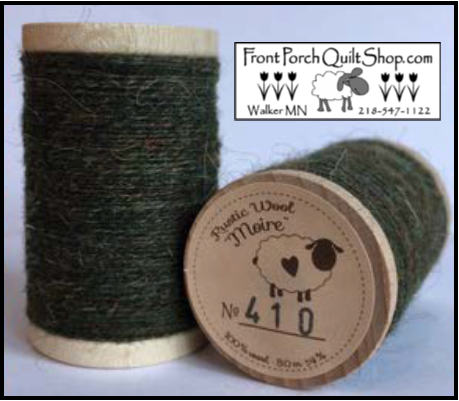 Rustic Wool Moire Threads No.410
