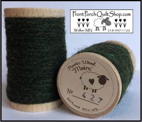 Rustic Wool Moire Threads No.427