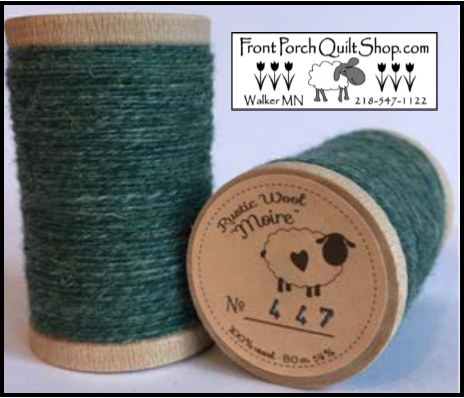 Rustic Wool Moire Threads No.447