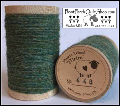 Rustic Wool Moire Threads No.448