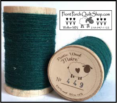 Rustic Wool Moire Threads No.449