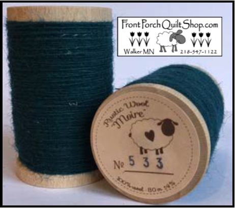 Rustic Wool Moire Threads No.533