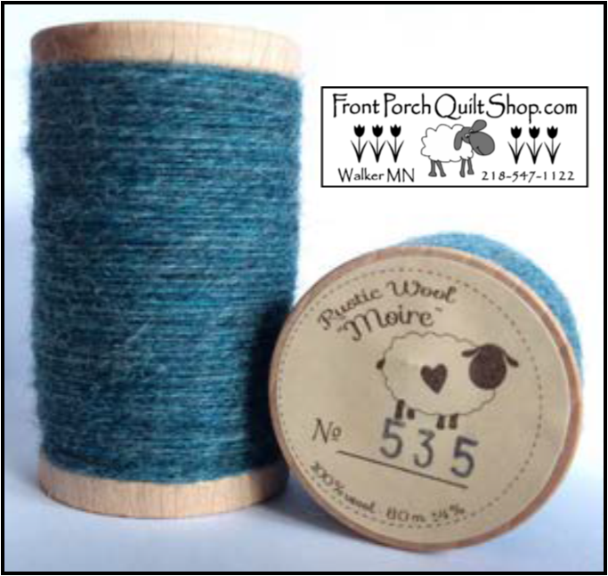 Rustic Wool Moire Threads No.535