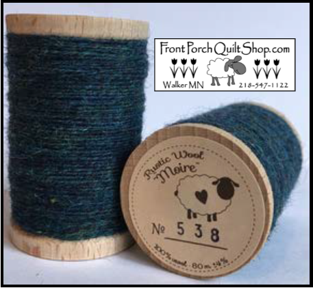 Rustic Wool Moire Threads No.538