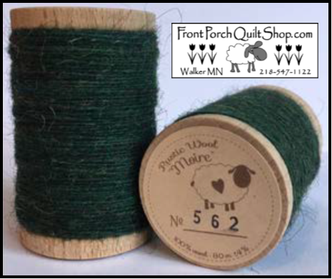 Rustic Wool Moire Threads No.562