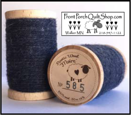 Rustic Wool Moire Threads No.585
