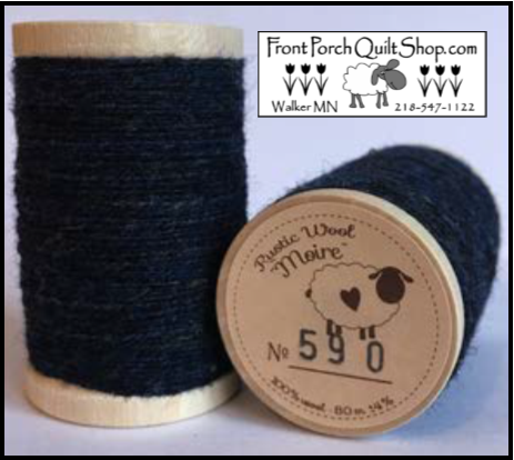 Rustic Wool Moire Threads No.590