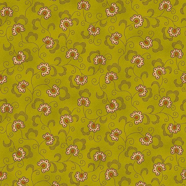 Gathering Basket Floral Vine Marigold