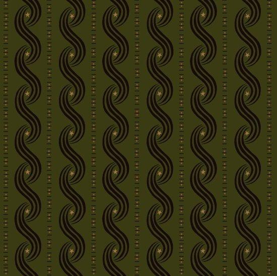 Katie's Cupboard Swirls Green