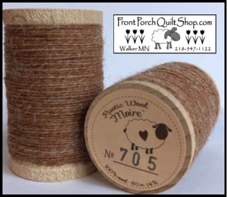 Rustic Wool Moire Threads No.705