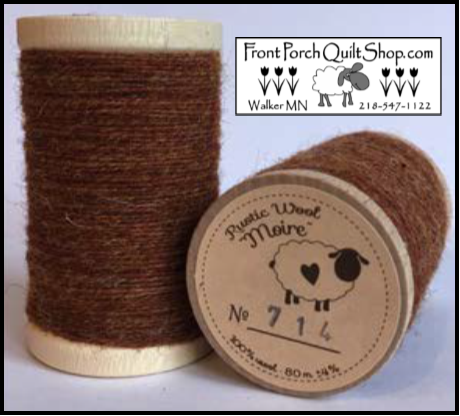 Rustic Wool Moire Threads No.714