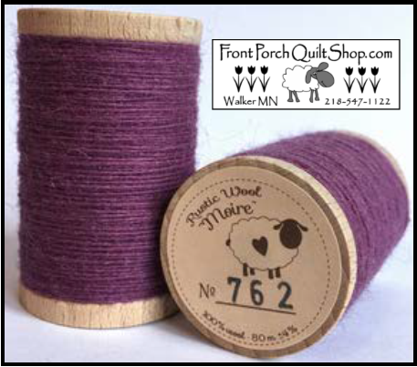 Rustic Wool Moire Threads No.762