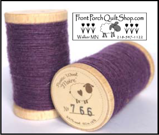 Rustic Wool Moire Threads No.766