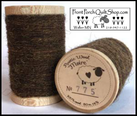Rustic Wool Moire Threads No.775