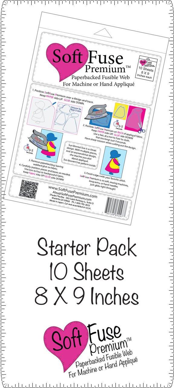 SoftFuse Premium 8 x 9 (10) Sheet pack