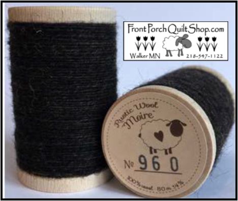 Rustic Wool Moire Threads No.960