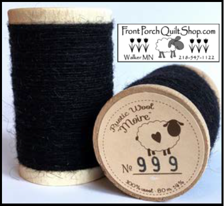 Rustic Wool Moire Threads No.999