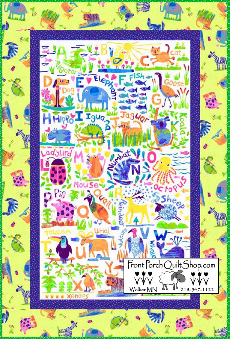 Animal Magic Free Quilt Pattern