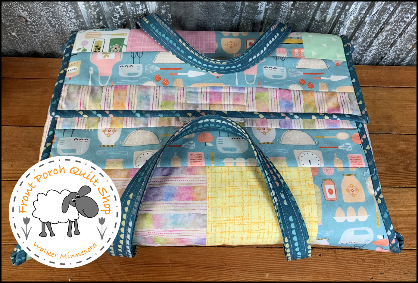 Quilt As You Go Casserole Caddy Fabric Kit