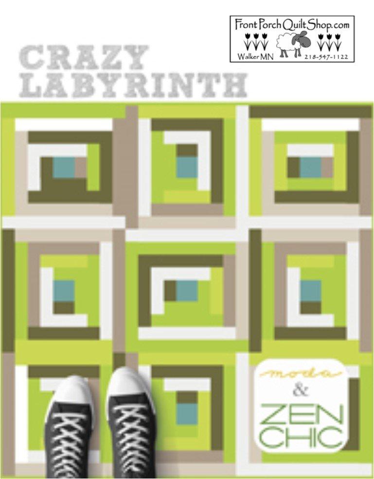 Crazy Labyrinth Downloadable PDF Pattern