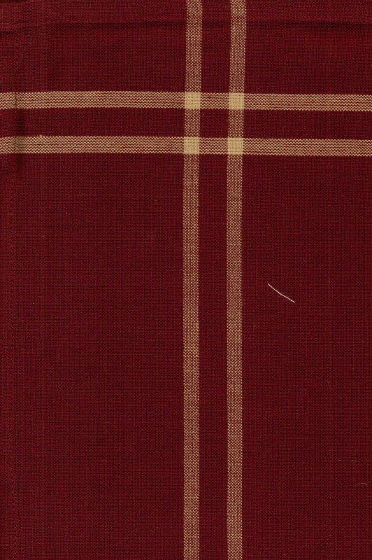 Cranberry Chambray Tea Towel
