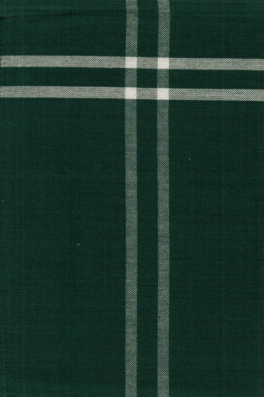 Green Chambray Tea Towel