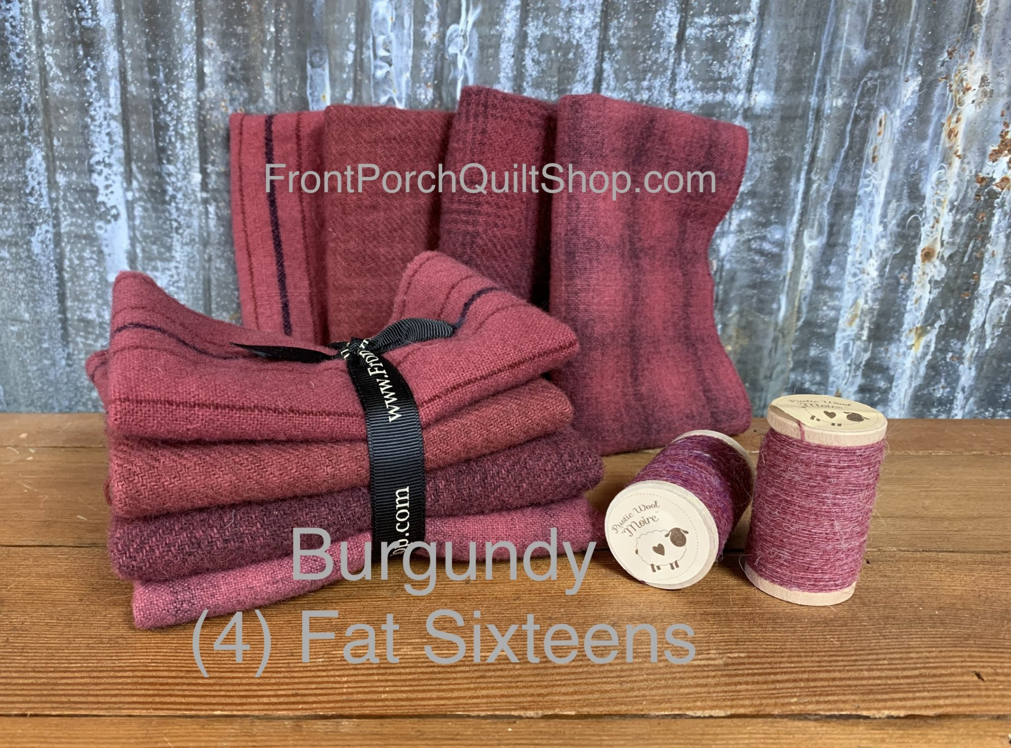 Fat Sixteen Bundle Burgundy